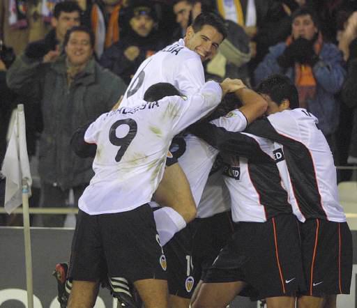 22.12.2001: Valencia CF 2 - 1 Málaga CF