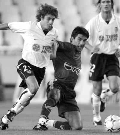 14.08.2002: Valencia CF 5 - 2 N. Montevideo