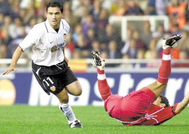 12.11.2002: Valencia CF 3 - 0 Spartak Moscú
