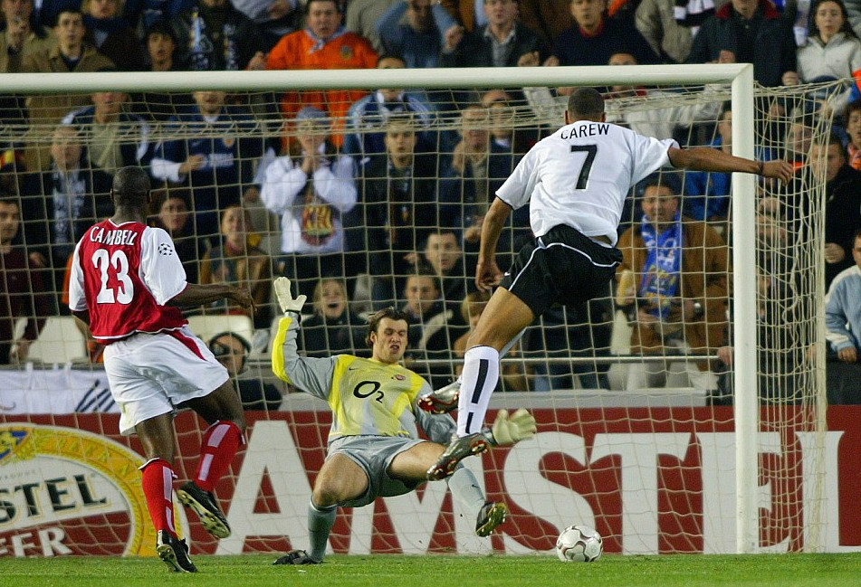 19.03.2003: Valencia CF 2 - 1 Arsenal FC