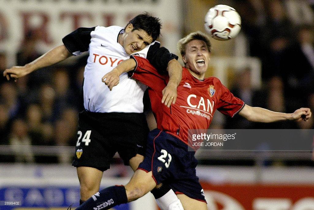 25.01.2004: Valencia CF 0 - 1 CA Osasuna