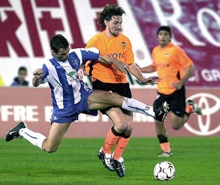 31.01.2004: Málaga CF 1 - 6 Valencia CF