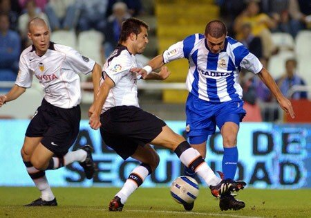 22.09.2004: Dep. Coruña 1 - 5 Valencia CF