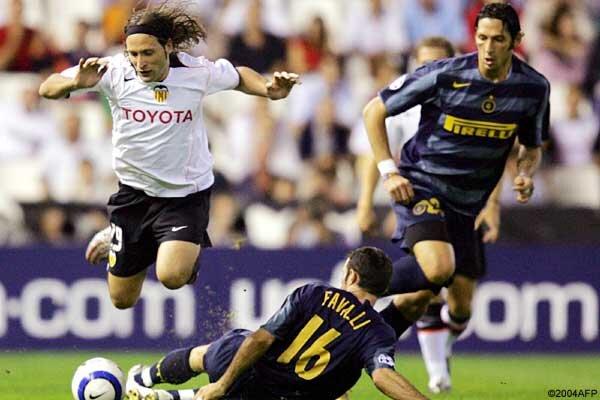 20.10.2004: Valencia CF 1 - 5 Inter Milán