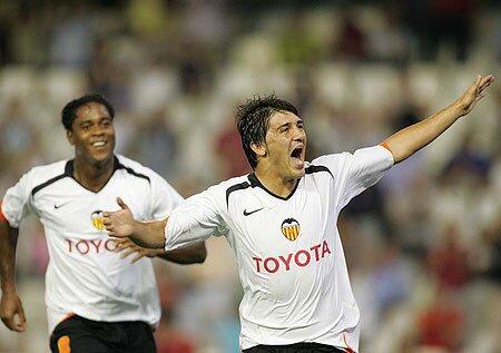 23.07.2005: Valencia CF 2 - 0 KAA Gent