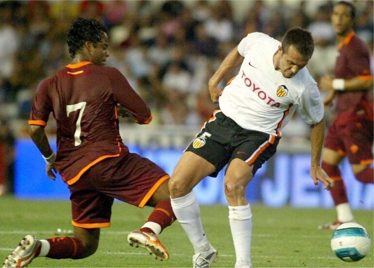 12.08.2006: Valencia CF 2 - 0 AS Roma