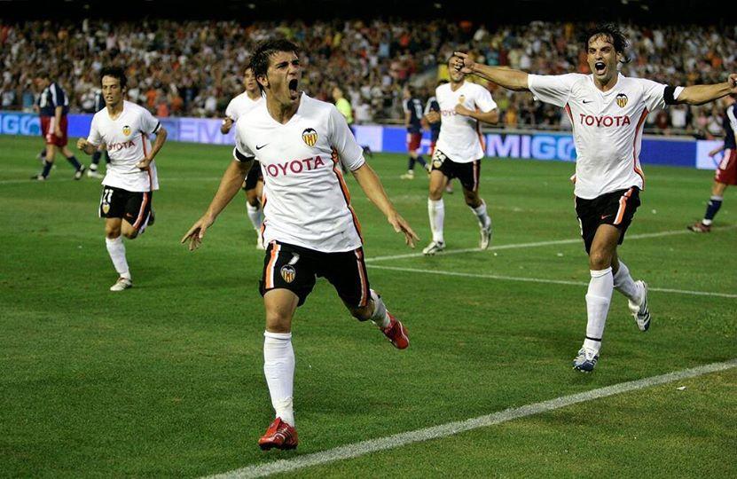 22.08.2006: Valencia CF 3 - 0 FC Salzburg