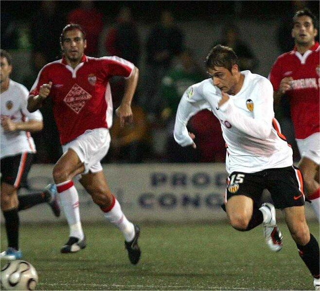 25.10.2006: Rac. Portuense 1 - 2 Valencia CF