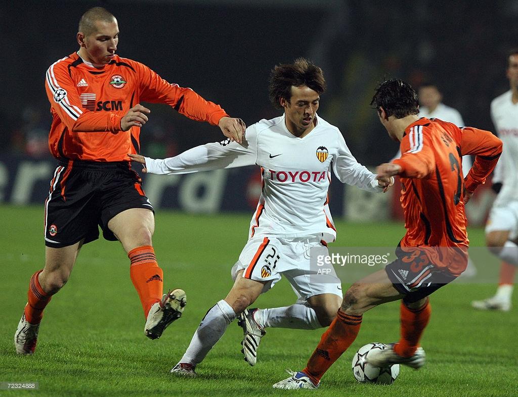31.10.2006: Sh. Donetsk 2 - 2 Valencia CF