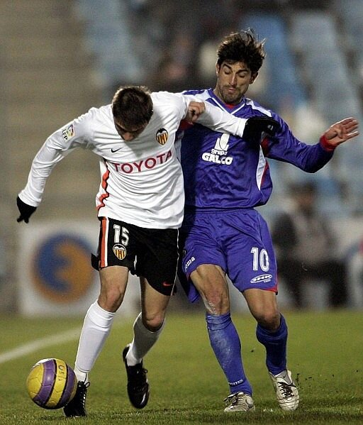 10.01.2007: Getafe CF 1 - 1 Valencia CF