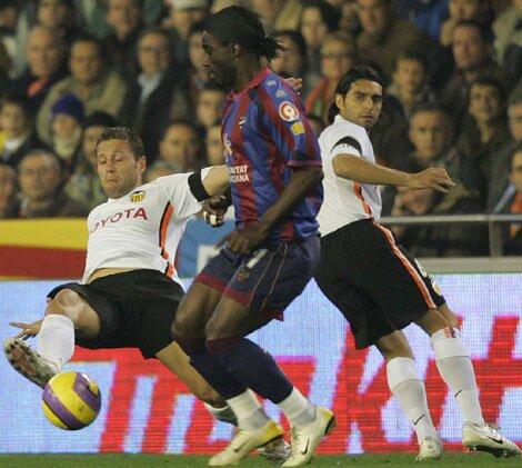 13.01.2007: Valencia CF 3 - 0 Levante UD