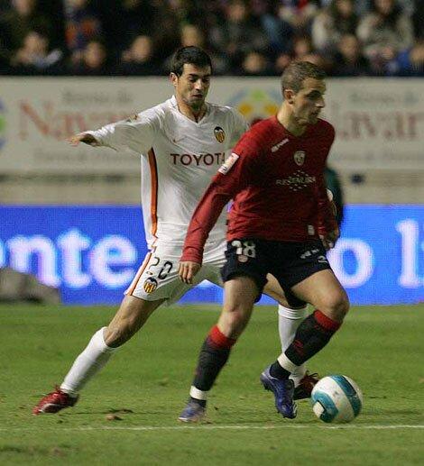 11.03.2007: CA Osasuna 1 - 1 Valencia CF