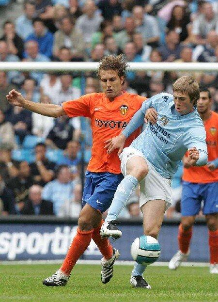04.08.2007: Manch. City 0 - 1 Valencia CF