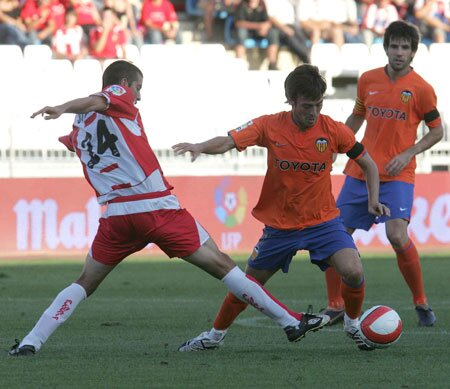 02.09.2007: UD Almería 1 - 2 Valencia CF