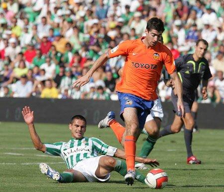 23.09.2007: Real Betis 1 - 2 Valencia CF