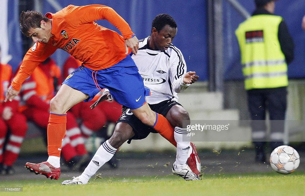 24.10.2007: Rosenborg BK 2 - 0 Valencia CF