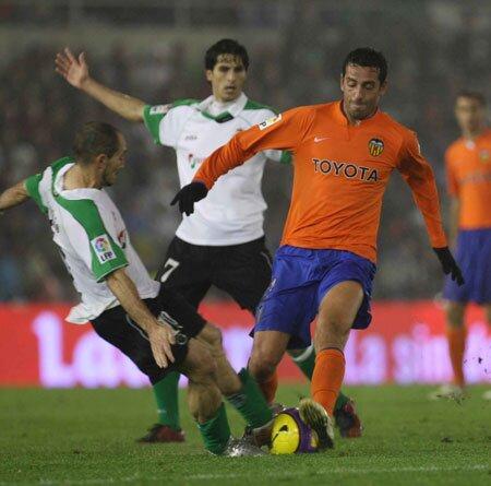 25.11.2007: Rac. Santander 1 - 0 Valencia CF