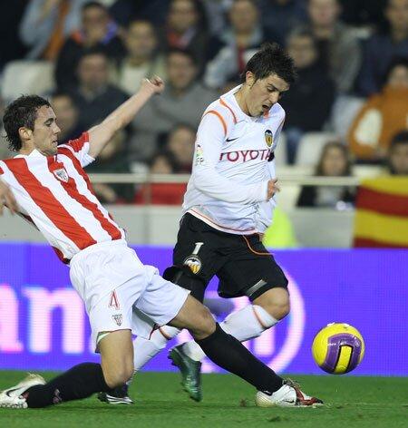 02.12.2007: Valencia CF 0 - 3 Athletic Club