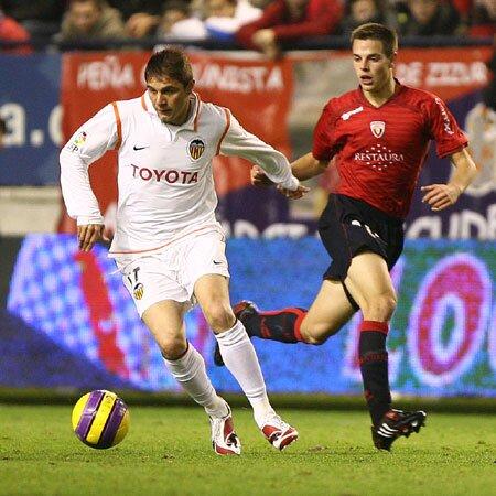 08.12.2007: CA Osasuna 0 - 0 Valencia CF