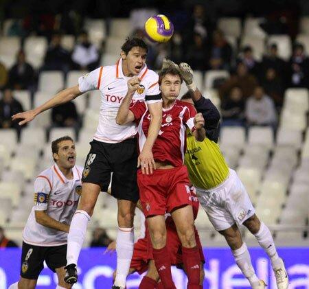 02.01.2008: Valencia CF 3 - 0 Real Unión