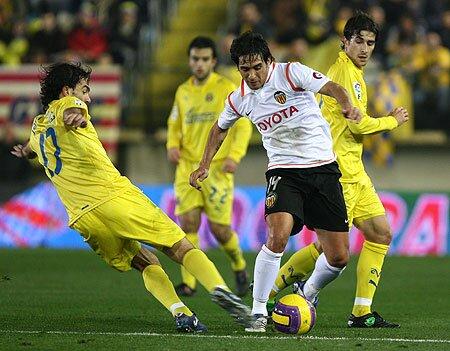 19.01.2008: Villarreal CF 3 - 0 Valencia CF