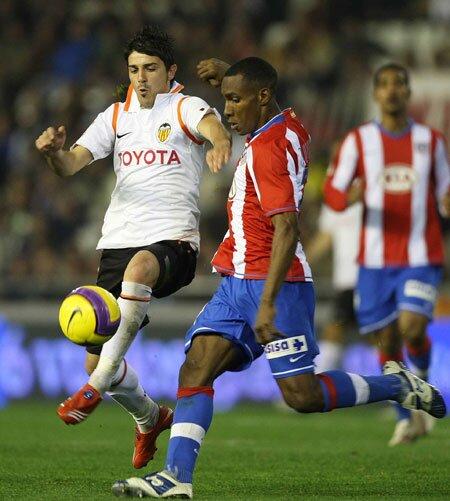 23.01.2008: Valencia CF 1 - 0 At. Madrid