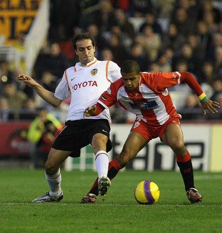 27.01.2008: Valencia CF 0 - 1 UD Almería