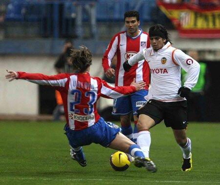 30.01.2008: At. Madrid 3 - 2 Valencia CF