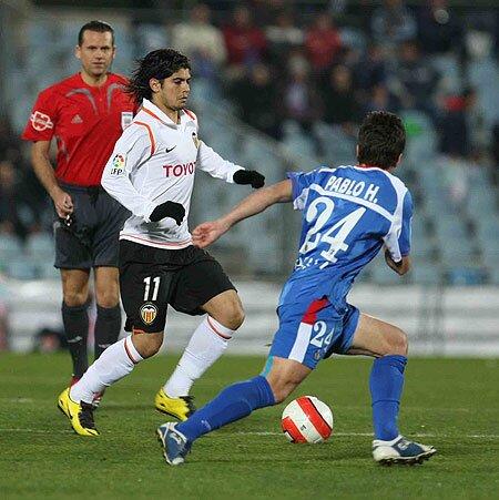 17.02.2008: Getafe CF 0 - 0 Valencia CF