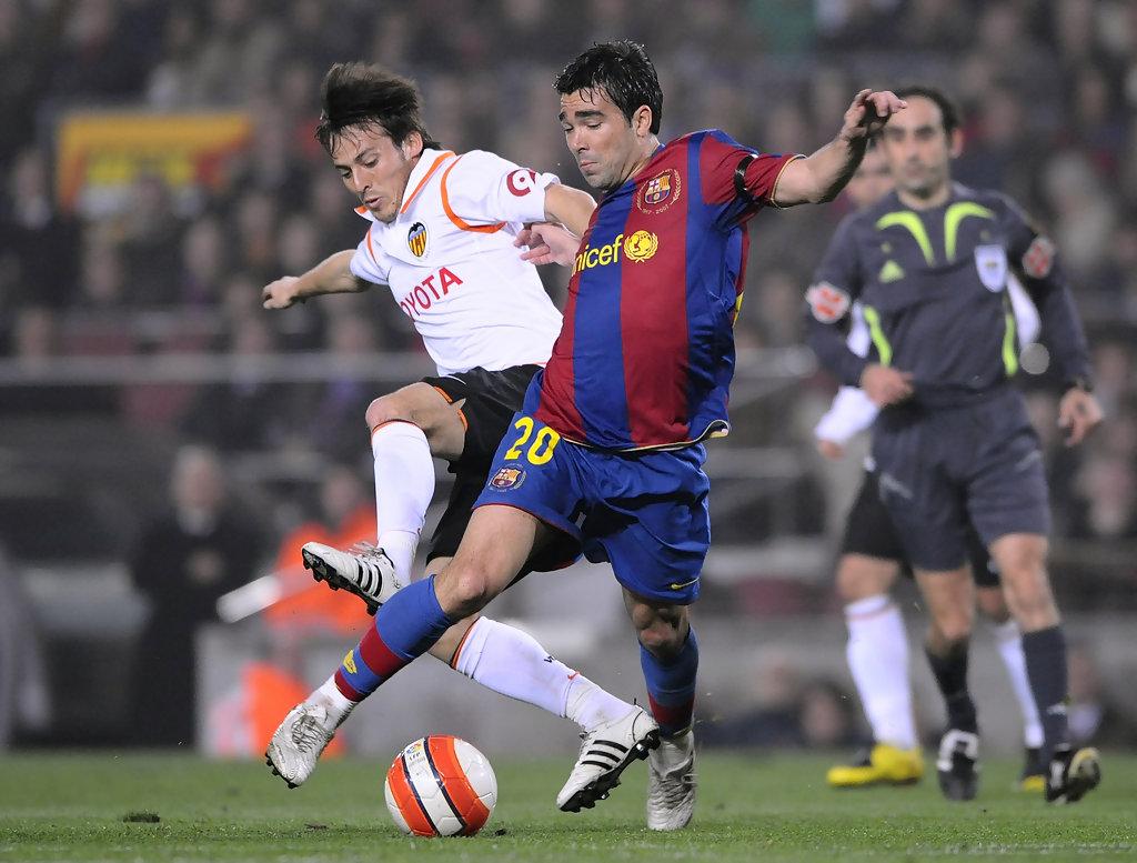 27.02.2008: FC Barcelona 1 - 1 Valencia CF