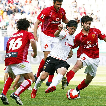 06.04.2008: Real Murcia 1 - 0 Valencia CF