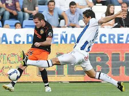 26.10.2008: Rec. Huelva 1 - 1 Valencia CF
