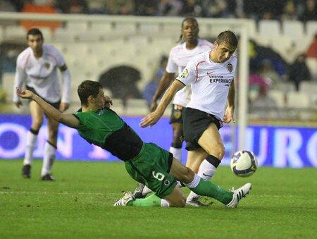 01.11.2008: Valencia CF 2 - 4 Rac. Santander