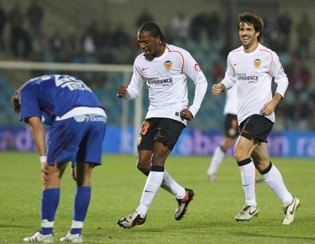 09.11.2008: Getafe CF 0 - 3 Valencia CF