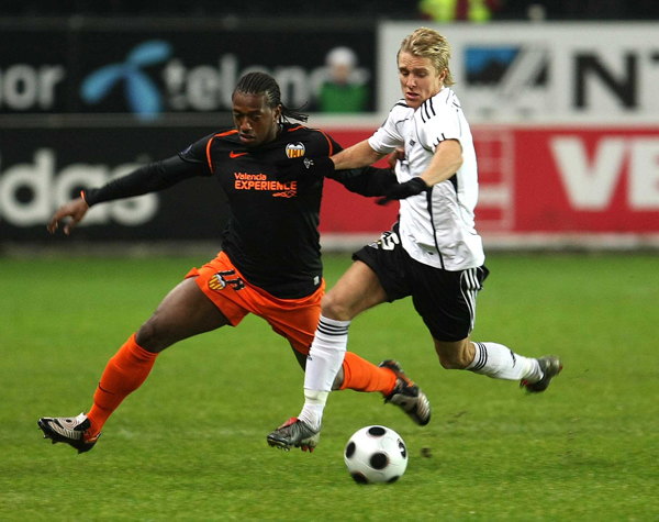 27.11.2008: Rosenborg BK 0 - 4 Valencia CF