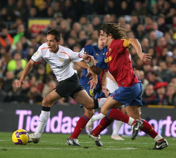 06.12.2008: FC Barcelona 4 - 0 Valencia CF