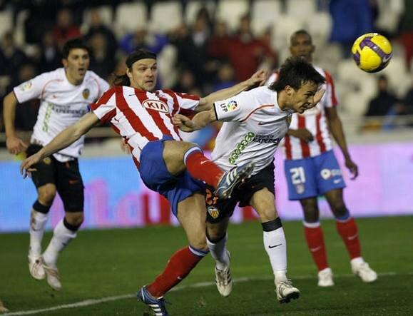 03.01.2009: Valencia CF 3 - 1 At. Madrid