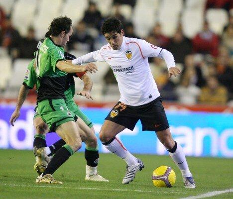 14.01.2009: Valencia CF 3 - 1 Rac. Santander