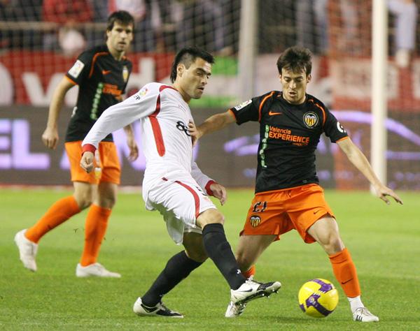 29.01.2009: Sevilla FC 2 - 1 Valencia CF