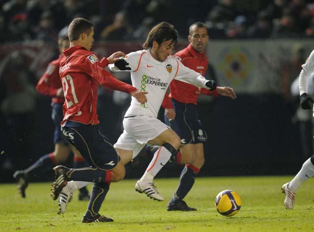 08.02.2009: CA Osasuna 1 - 0 Valencia CF