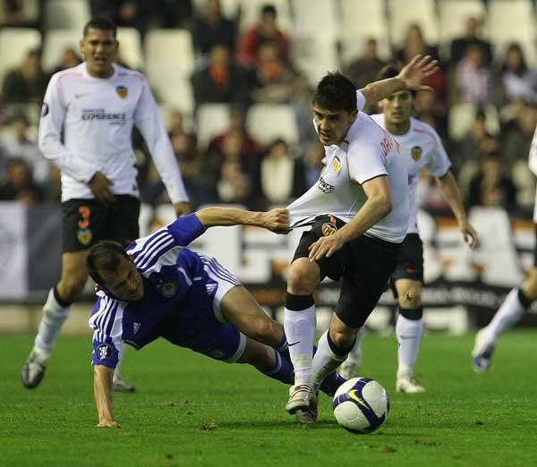 26.02.2009: Valencia CF 2 - 2 Dinamo Kiev