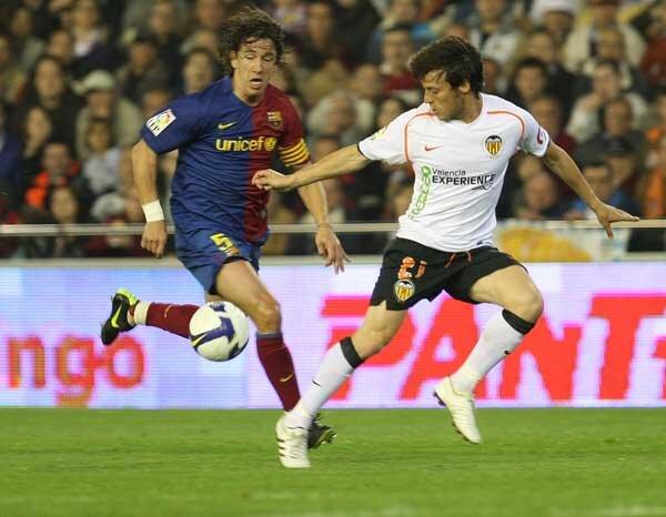25.04.2009: Valencia CF 2 - 2 FC Barcelona