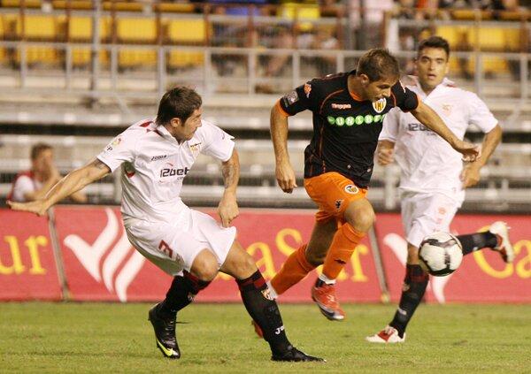 14.08.2009: Sevilla FC 2 - 0 Valencia CF