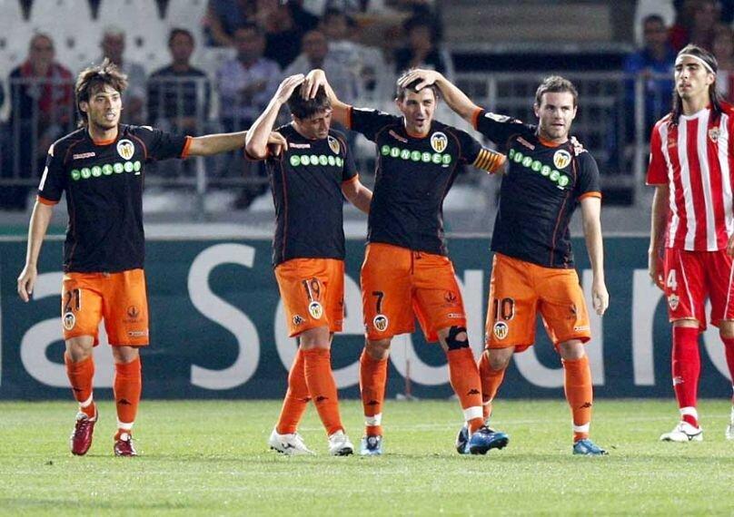 25.10.2009: UD Almería 0 - 3 Valencia CF