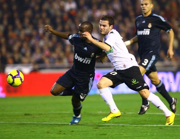 12.12.2009: Valencia CF 2 - 3 Real Madrid