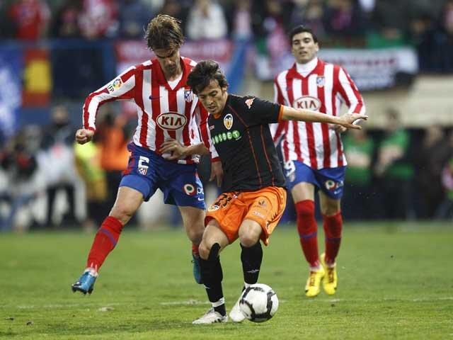 28.02.2010: At. Madrid 4 - 1 Valencia CF