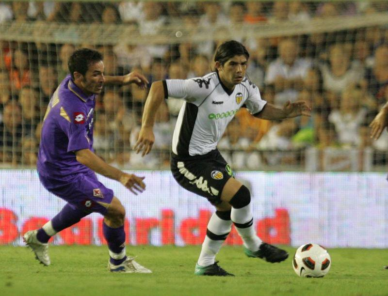 18.08.2010: Valencia CF 2 - 0 AC Fiorentina