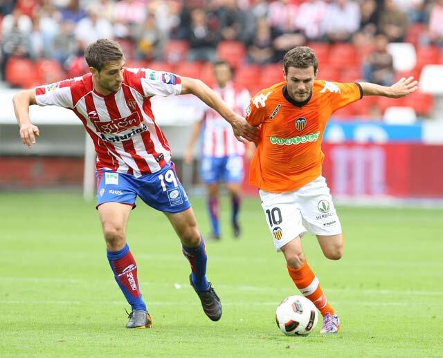 25.09.2010: Sporting Gijón 0 - 2 Valencia CF