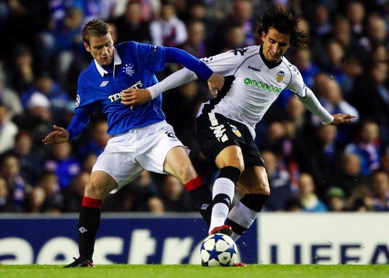 20.10.2010: Glasgow Rang. 1 - 1 Valencia CF