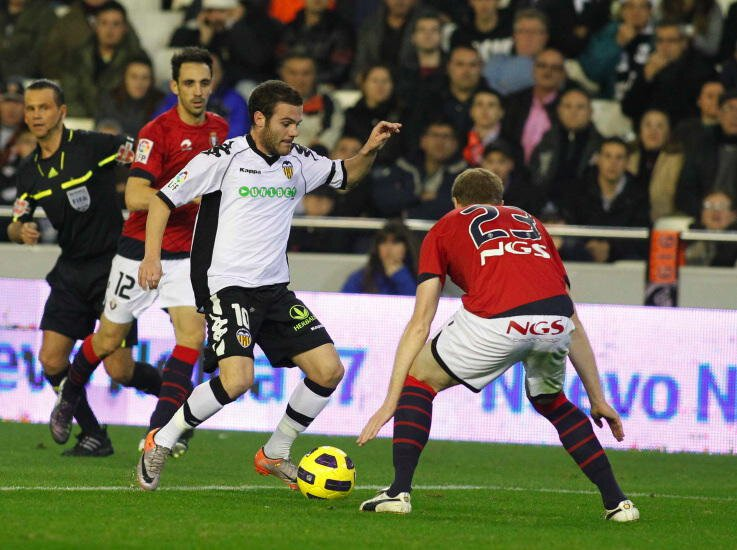 13.12.2010: Valencia CF 3 - 3 CA Osasuna